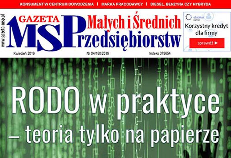 Kwietniowa Gazeta Małych i Średnich Przedsiębiorstw