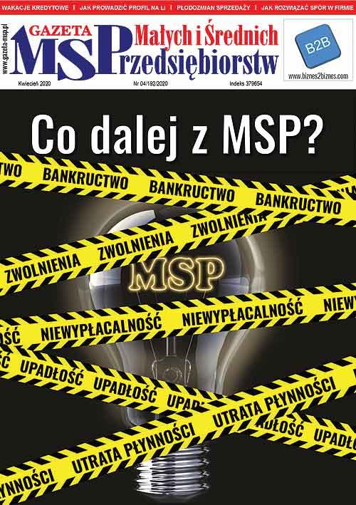 Kwietniowe wydanie Gazety Małych i Średnich Przedsiębiorstw