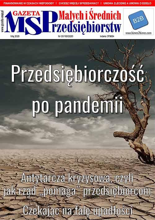 Majowe wydanie Gazety Małych i Średnich Przedsiębiorców
