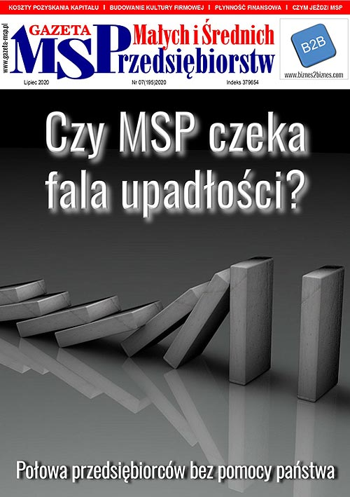 Lipcowe wydanie Gazety Małych i Średnich Przedsiębiorców
